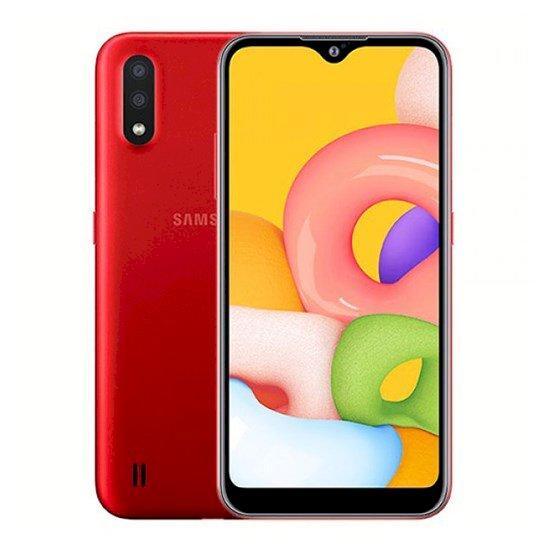 Samsung Galaxy A01 2GB RAM 16GB LTE A015FD Red