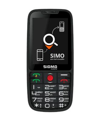 Sigma Mobile 50 Meipl Elegance 3 Black