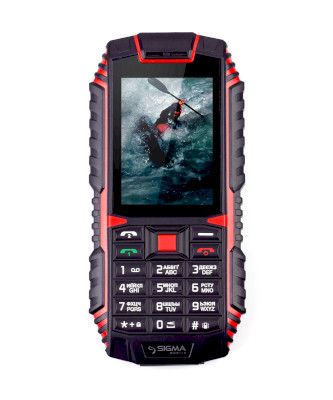 Sigma X-Treme DT68 Black/Red